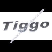 chery tiggo arka TİGGO yazısı